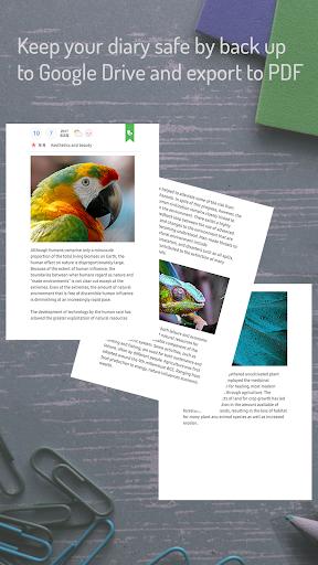 POPdiary+ : diary, journal screenshot 7
