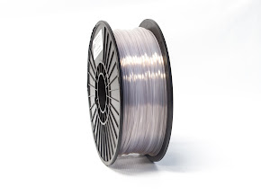 Translucent Clear PRO Series PLA Filament - 3.00mm