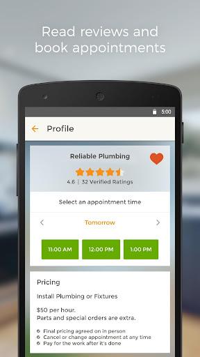玩免費遊戲APP|下載HomeAdvisor Home Contractors app不用錢|硬是要APP