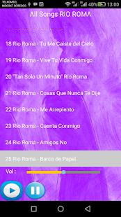 RIO ROMA SONGS - náhled