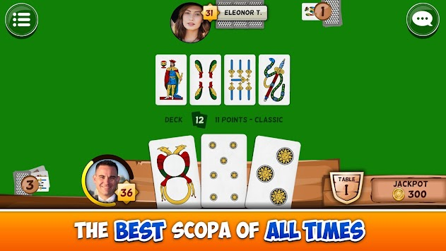 Scopa 154,367 APK screenshot thumbnail 6