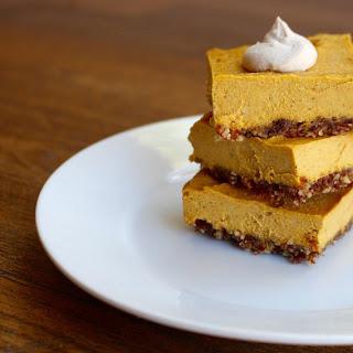 Pumpkin Pie Bars (No Baking Required!)