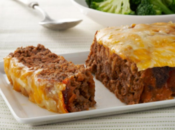 Cheesy Cheeseburger Meatloaf Recipe