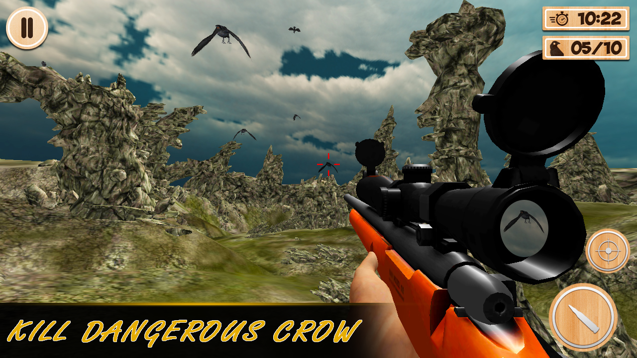 Forest Crow Hunting - 3D- screenshot