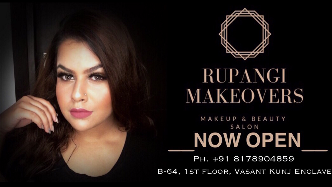 Rupangii Makeovers Makeup Beauty Salon Best Beauty