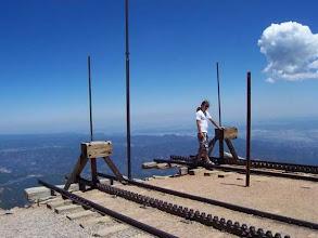 Photo: konec dráhy na Pikes Peaku