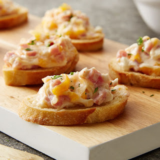 Hot Ham and Cheese Dip.