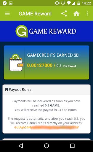 G-Reward - Earn free GameCredits screenshot 3