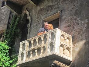 Photo: Juliet's balcony