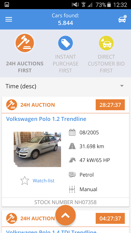 AUTO1.com- screenshot