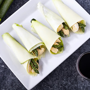 Spicy Shrimp Hand Roll