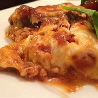 Eggplant and Goat Cheese Lasagna.