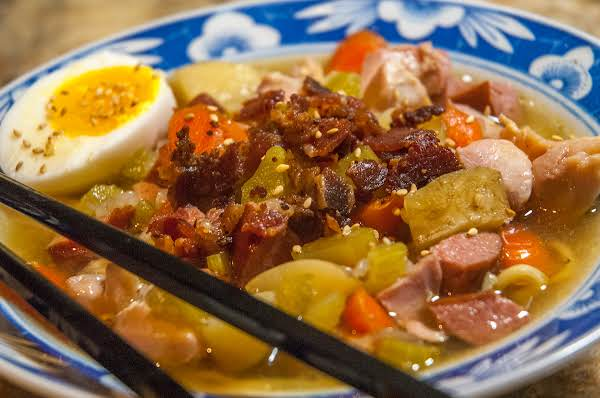 Slow Cooker Heaven: Spicy Chicken/sausage Soup Recipe