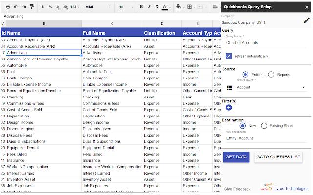 Jivrus' Integra for QuickBooks - G Suite Marketplace