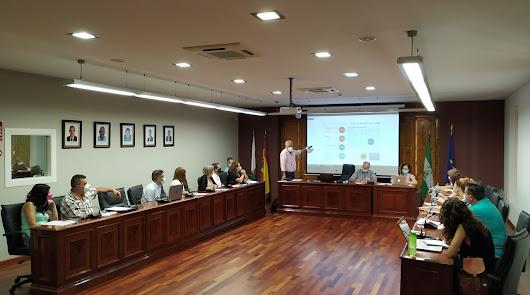 Pleno celebrado en Huércal de Almería.