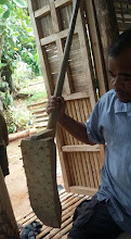 Photo: Wooden weeder seen on an October 18 visit to DAO, Iloilo, The Philippines.  [Photo courtesy of Joby Arandela, The Philippines, 2015].