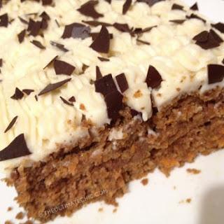 GLUTEN-FREE CARROT PULP CAKE