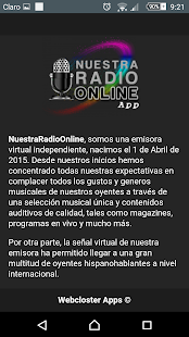Nuestra Radio Online- screenshot thumbnail