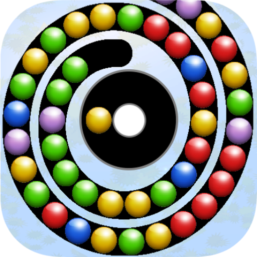 Shoot Bubbles in a Spiral (game)