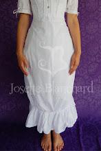 Photo: Petticoat - anágua para bustle simples em algodão. R$ 80,00.