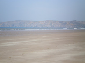 Photo: From Broad Haven to Solva (Newgale Sands)