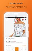 screenshot of Jabong Online Shopping App