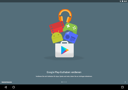 Google Umfrage-App Screenshot