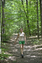 Photo: Hiker on trail at Half Moon State Park by Bill Steele