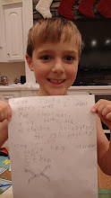 Photo: Ethan's letter to Santa