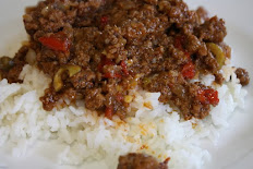Ground beef simmered in our special creole sauce