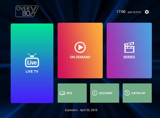 OverBox IPTV screenshot 4