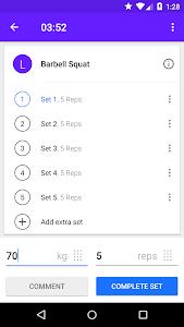 Progression - Fitness tracker v3.3