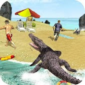Crocodile Attack Mission 3D