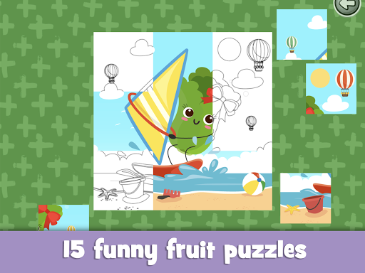 Learn fruits and vegetables - games for kids  screenshots 16