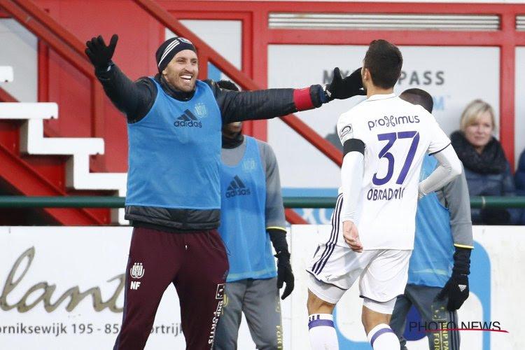 """Obradovic weet wie te bedanken: """"Frutos is heel belangrijk voor mij"""""""