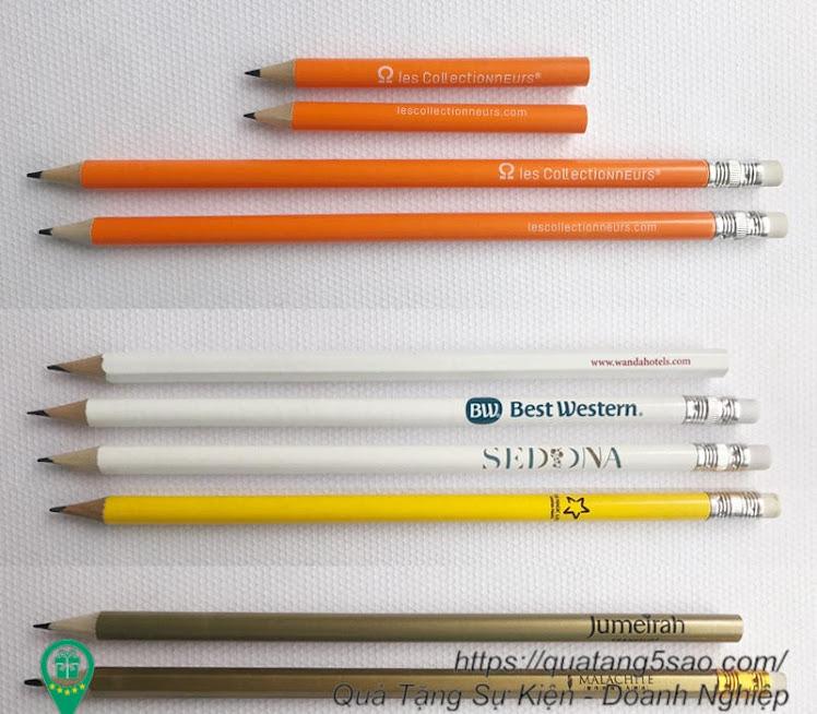 Bút chì gỗ giá rẻ in logo doanh nghiệp