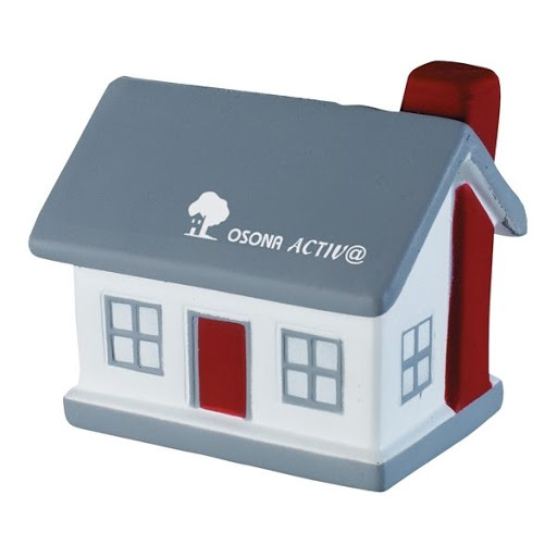 House Shaped Stress Toy