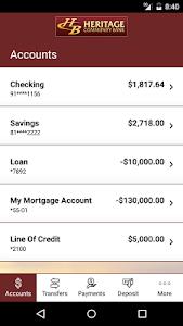 Heritage Community Bank screenshot 2