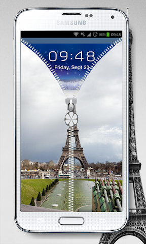 android NEW PRAY PARIS SCREEN LOCK Screenshot 4