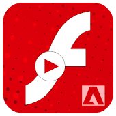 Flash Player For Android -  Fast SWF Player & FLV Icon