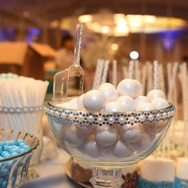 Gumballs  by Lorraine D.  Heaney - Food & Drink Candy & Dessert