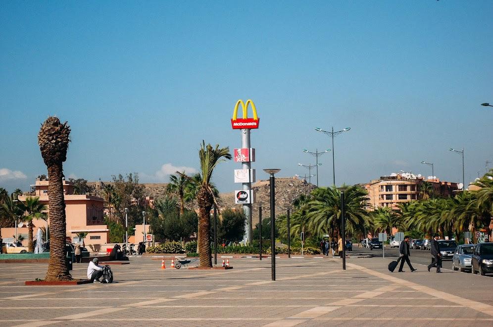 Макдональдс в Марракеше