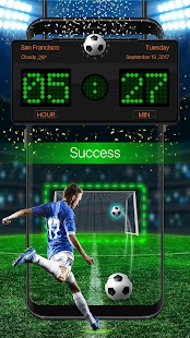 Football Theme Lock Screen HD - náhled