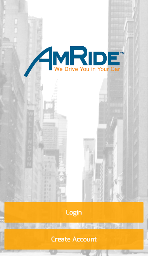 AmRide- screenshot