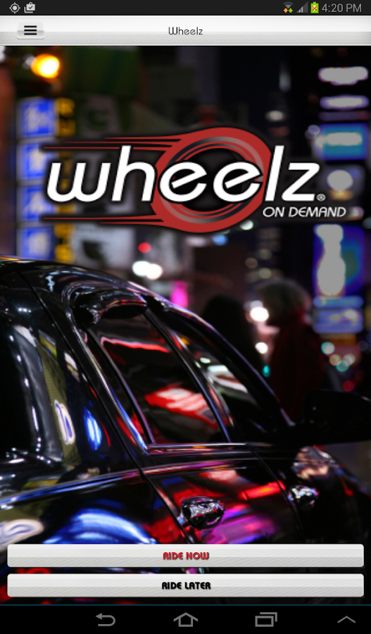 Wheelz On Demand- screenshot