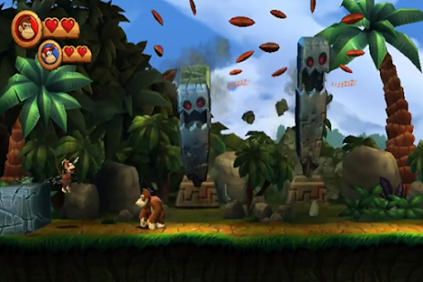 Game Donkey Kong Country Trick
