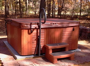 Photo: Buying the Ezpad was the best thing of this project. I built a frame then filled with sand. The Hot Tub company had never seen a pad. Thanks for making a great product.   James C. Iron Station, NC