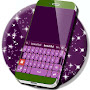 Keyboard Colour Purple APK icon