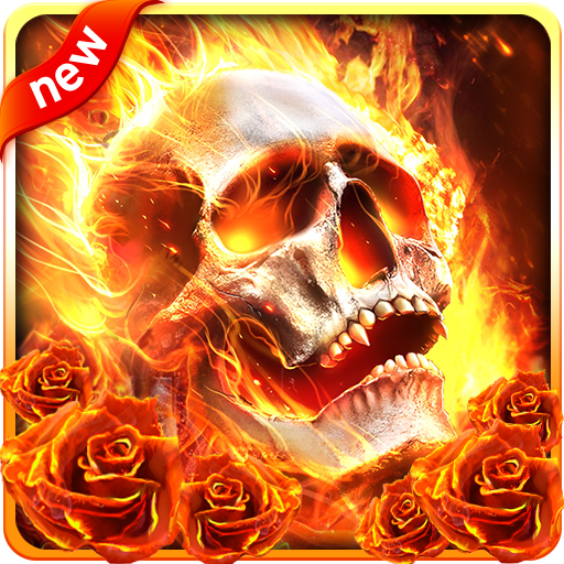 Fire Skull Live Wallpaper Apps On Google Play