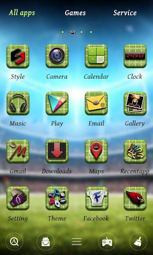 Football GO  Launcher Theme screenshot